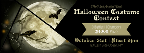 Halloween Contest Facebook Cover Photo
