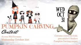 Halloween Contest Facebook Cover Video
