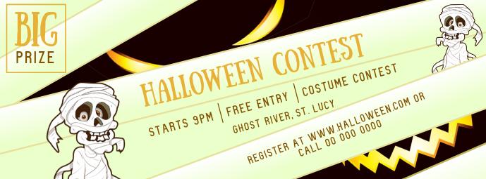 Halloween Contest Mummy Facebook Cover