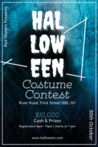 Halloween Contest Poster