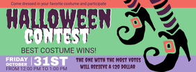 Halloween Contest Vintage Facebook Cover Photo