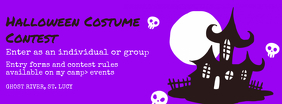Halloween Costume Contest Facebook Cover Photo