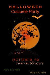 Halloween Costume Contest Poster