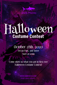 Halloween Costume Contest Poster