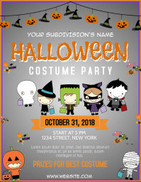 Halloween Costume Party for kids