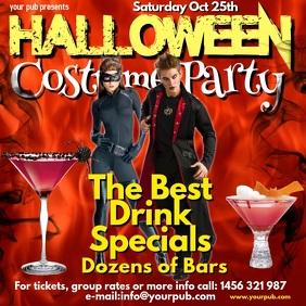 Halloween Costume Party Instagram Post