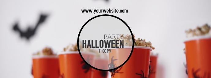 Halloween cover photo Facebook 封面图片 template