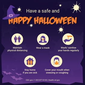 Halloween Covid-19 Shopping Guidelines