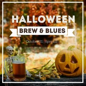 Halloween Craft Beer Festival Instagram post Iphosti le-Instagram template