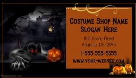 Halloween Custume Business Card