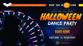Halloween Dance Digital Display Video
