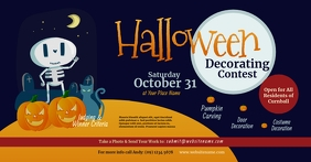 Halloween Decorating Contest Facebook Shared