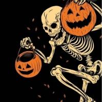 Halloween Instagram Post template
