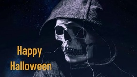 Halloween Digitalt display (16:9) template