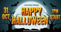 Halloween Publicité Facebook template