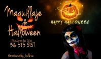 halloween Label template
