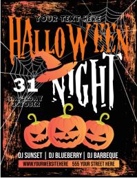 Halloween Pamflet (VSA Brief) template
