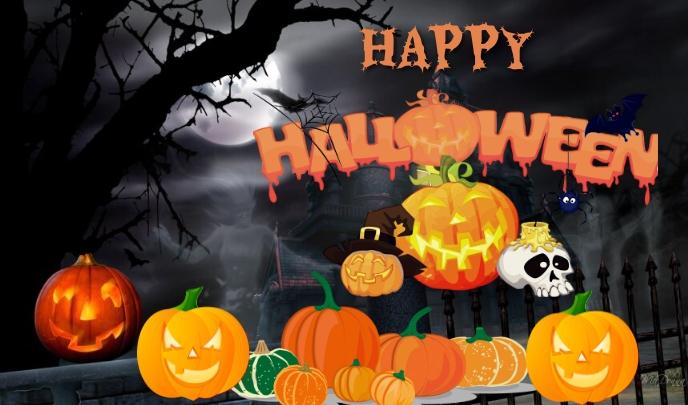 Halloween Etiqueta template