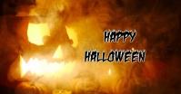 Halloween Изображение, которым поделились на Facebook template