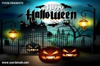 Halloween Póster template