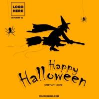 Halloween Wpis na Instagrama template