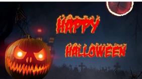 Halloween Digital Display (16:9) template