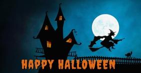 Halloween Portada de evento de Facebook template