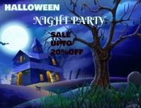 Halloween Flyer (format US Letter) template