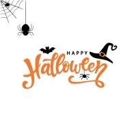 halloween Instagram 帖子 template