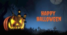 Halloween Gambar Bersama Facebook template