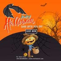 halloween Publicación de Instagram template