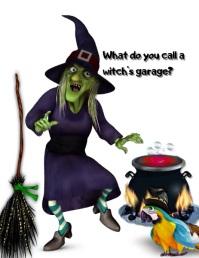 Halloween Рекламная листовка (US Letter) template