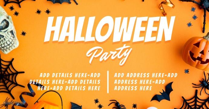 halloween Capa para evento do Facebook template