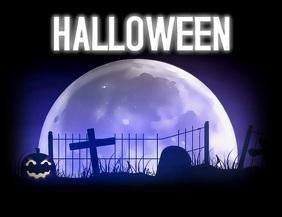 HALLOWEEN Ulotka (US Letter) template