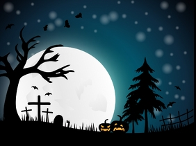 5 350 Halloween Zoom Background Backdrop Customizable Design Templates Postermywall