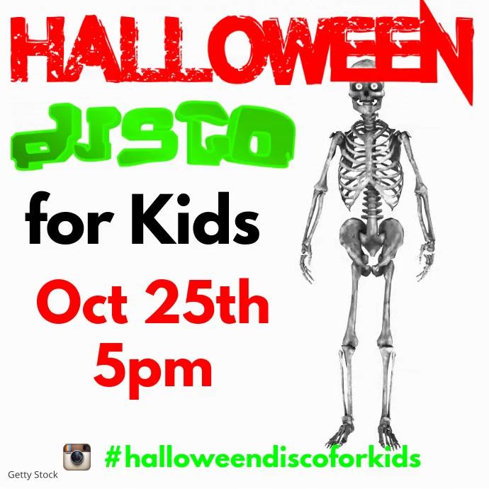 Halloween Disco for Kids