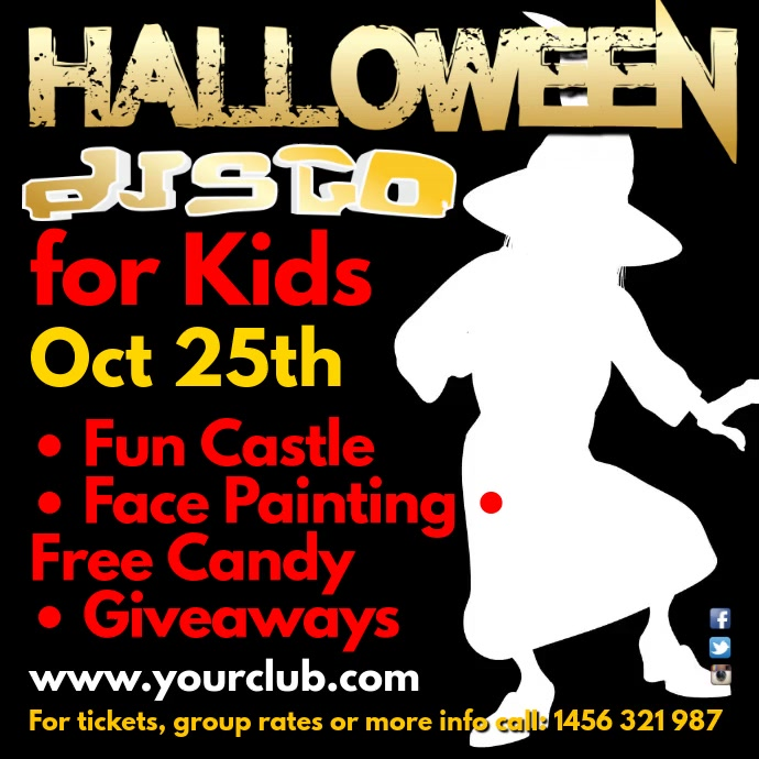 Halloween Disco for kids