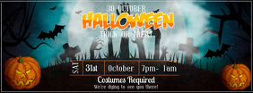 Halloween Event Facebook Cover Photo template
