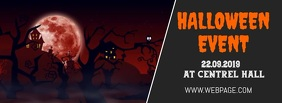 Halloween event facebook cover template Facebook-coverfoto