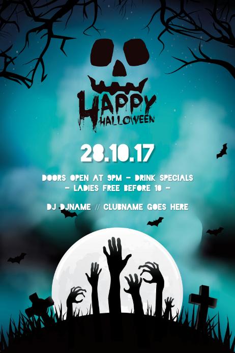 Halloween Event Poster