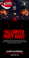 Halloween Event Party Roll Banner Template