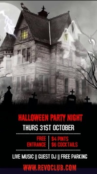 Halloween Event Party Template