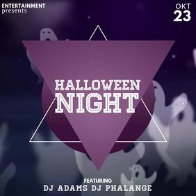 Halloween Event Video Advertising template for instagram