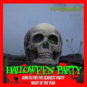 Halloween Event Video Template