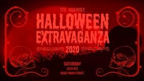 Halloween Extravaganza Facebook Cover Video