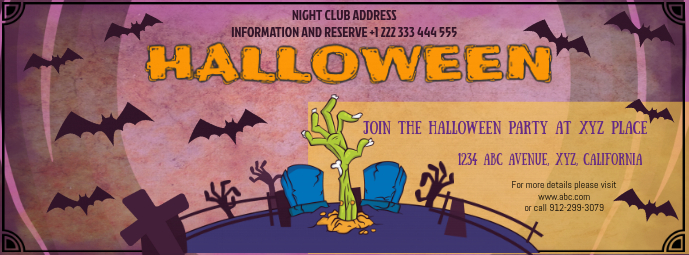 Halloween Facebook Cover Image