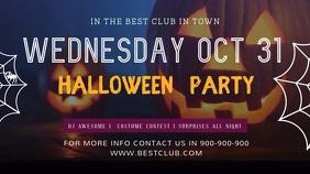Halloween Facebook Cover Video