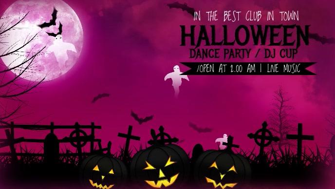 Halloween Facebook CoverTemplate