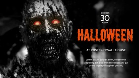 Halloween Facebook Video Cover design