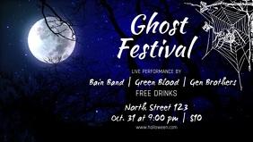 Halloween Festival Facebook Cover Video